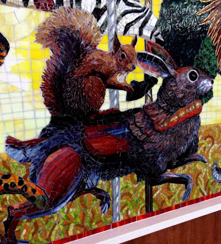 Commissioned Public Art Mosaic Murals For Hospitals, Healthcare & Medical
