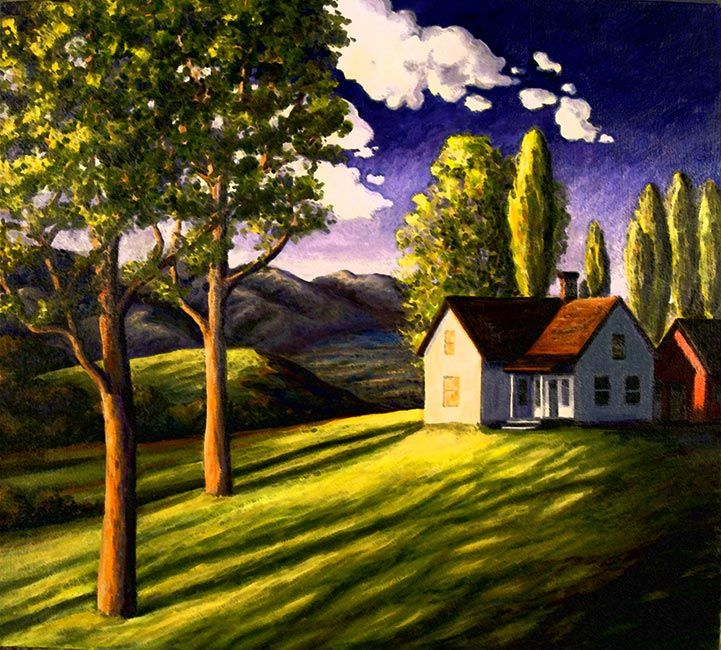 Jennies House: Washington Oil Painters
