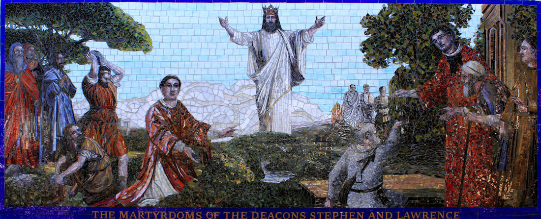 Christ the King Catholic Church: Custom Religious & Liturgical Mosaic Tile Mural