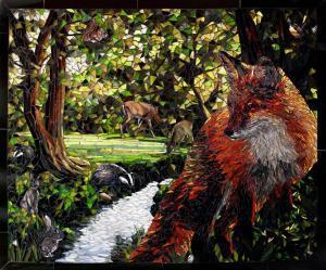 Fox and Stream: Custom Backsplashes