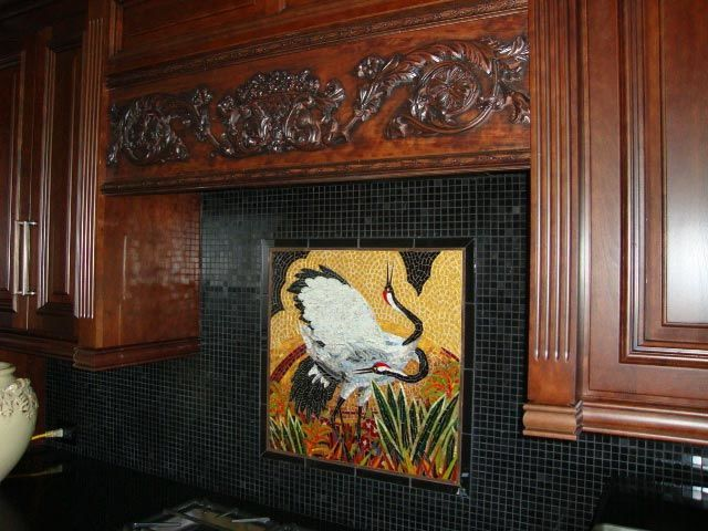 Crane Mosaic Florida: Custom Backsplashes