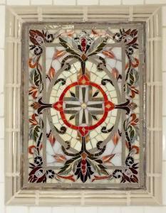 Mystic Gray: Custom Mosaic Art