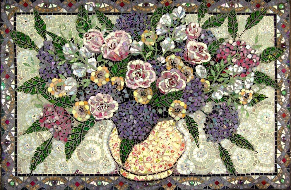 Nitas Flowers: Custom Floral Backsplashes