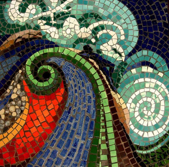 Beautiful Dreamer: Custom Mosaic Art