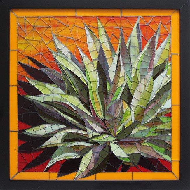 Succulent: Custom Mosaic Backsplashes