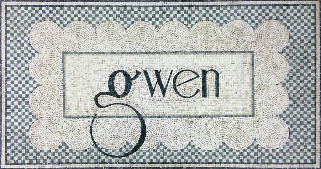 Gwen Restaurant: Custom Mosaic Floors