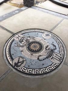 Zodiac: Custom Mosaic Floors