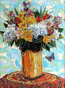 Daffodils: Fine Art Mosaics