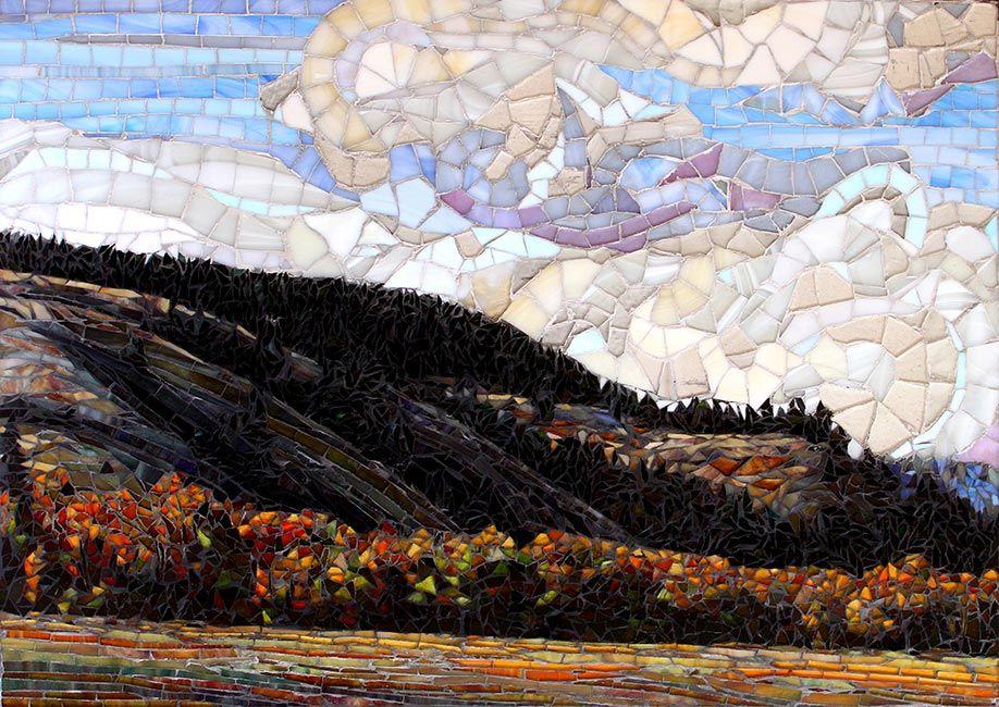 East of the Summit: Fine Art Mosaic