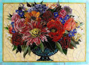 Floral: Custom Backsplashes