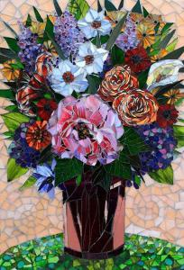 May Flowers: Custom Floral Mosaic Art