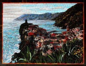 Cinque Terre Passeggiata: Mosaic Art