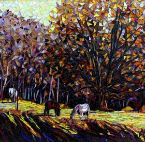 Winters End: Mosaic Art