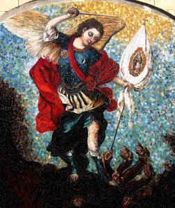 St Michael: Custom Religious Murals