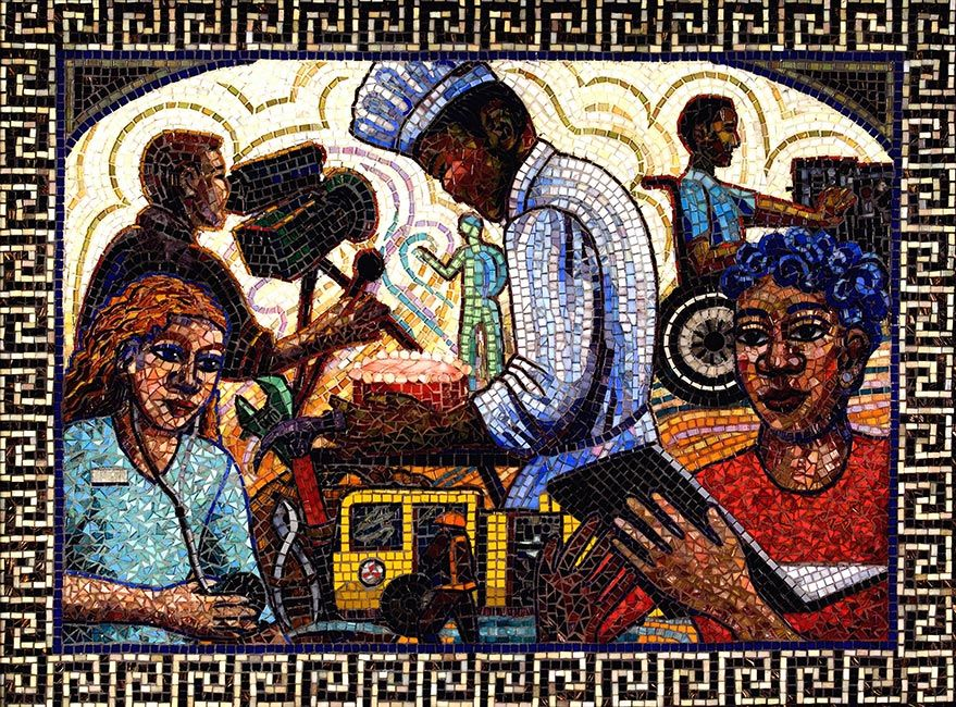 Anticipation: by Washington Mosaic Artists