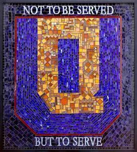 Queens University: Custom Mosaic Art