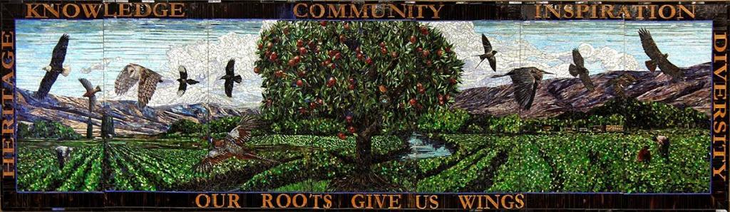 Our Roots Give Us Wings: by Washington Mosaic Artists