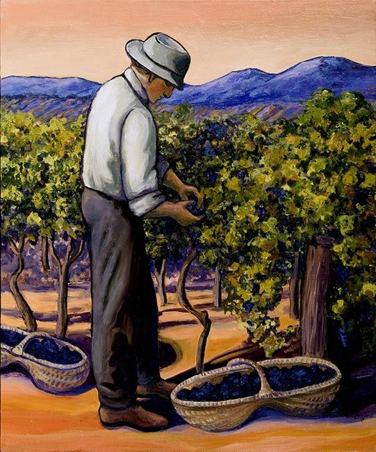 Vineyard: Washington Oil Painters