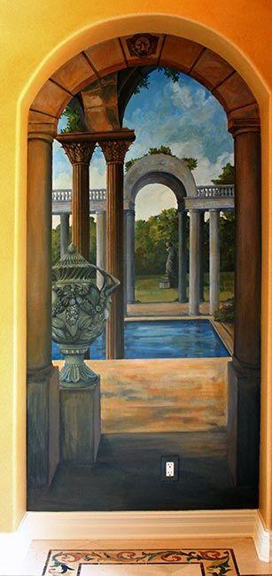 Entryway Mural: Painted Murals