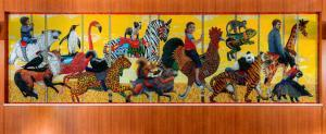 Custom Commissioned Public Art Mosaic Murals For Hospitals, Healthcare & Medical Facilities