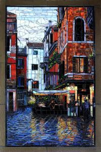 SOLD Venice After the Rain: Fine Art Mosaics