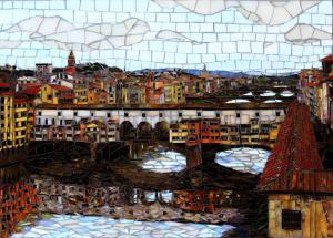 Ponte Vecchio Florence: Fine Art Mosaics
