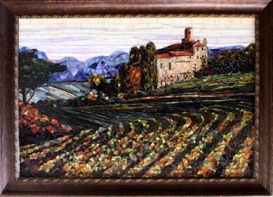 Piedmond Landscape: Mosaic Tile Artists