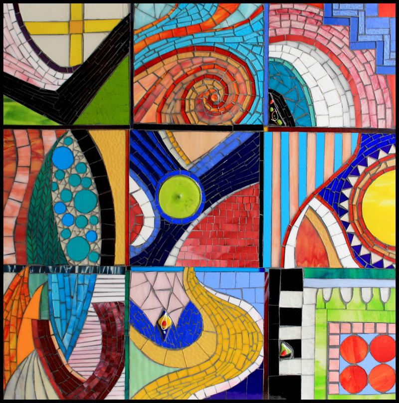 Frangipane: Glass Mosaic