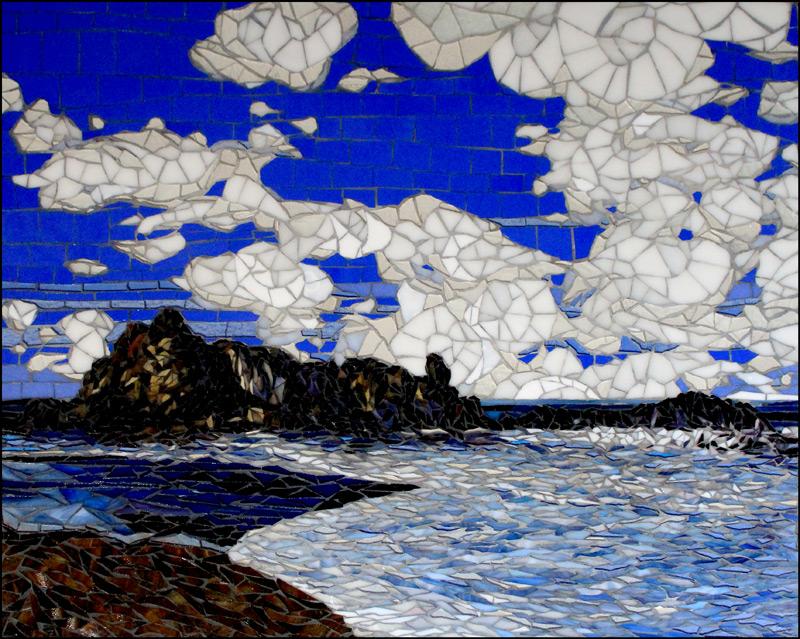 Depoe Bay - Glass Mosaic