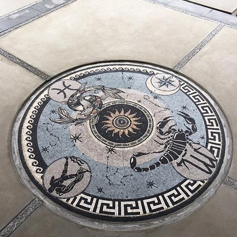 Zodiac: Custom Mosaic Floors