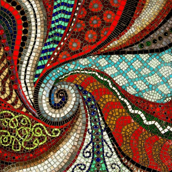 Birth of a Planet: Fine Art Mosaics