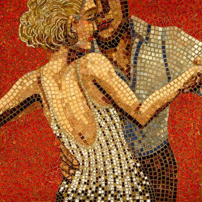 Dancers: Fine Art Mosaics
