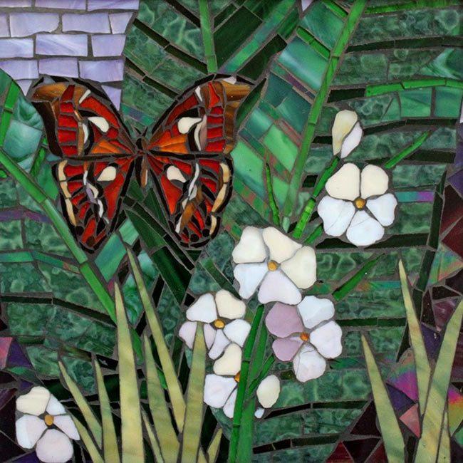 Moth: Custom Mosaic Art