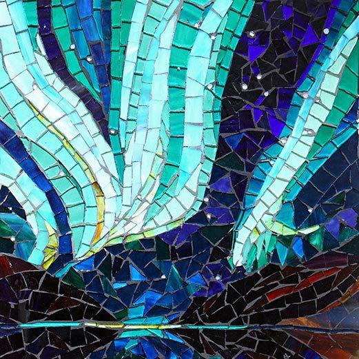 Northern Lights: Glass Mosaic Art