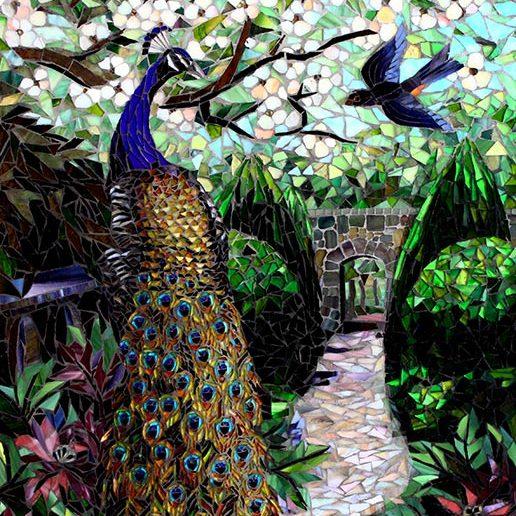 Spring Garden: Fine Art Mosaics