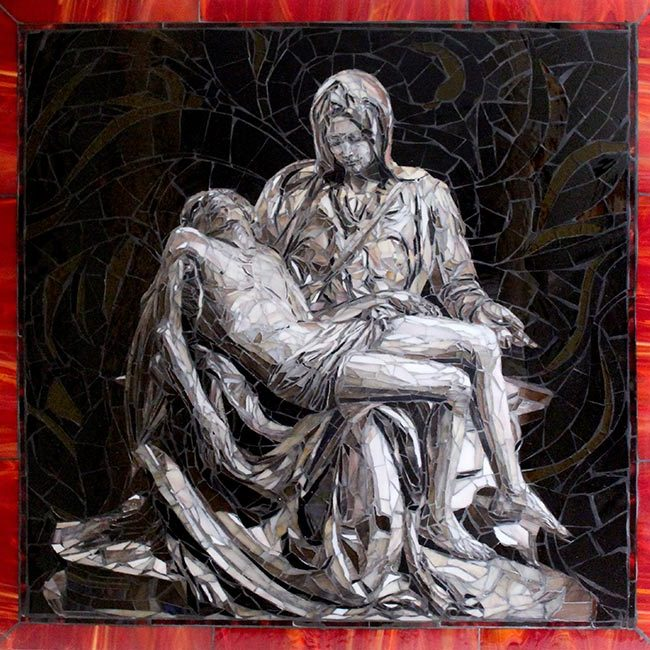 Pieta: Custom Mosaic Art