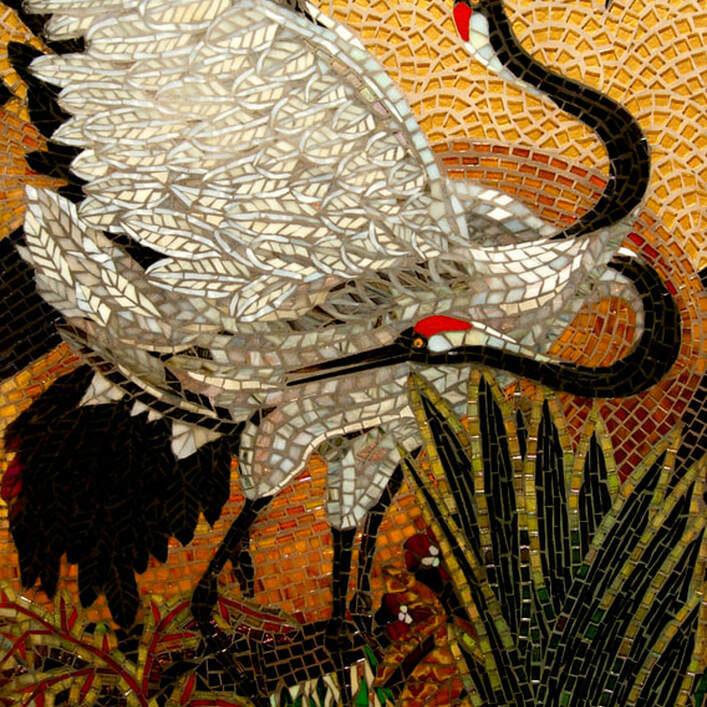 """(2007) Glass mosaic 35"""" x 24"""""""