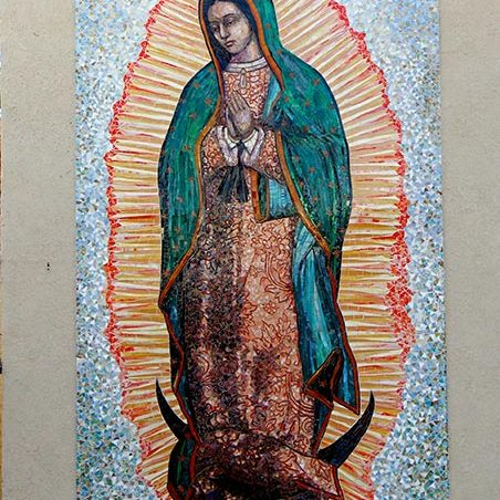 Our Lady of Guadalupe: Custom Mosaic Art