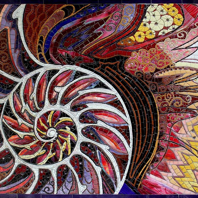 Nautilus: Custom Mosaic Art Murals