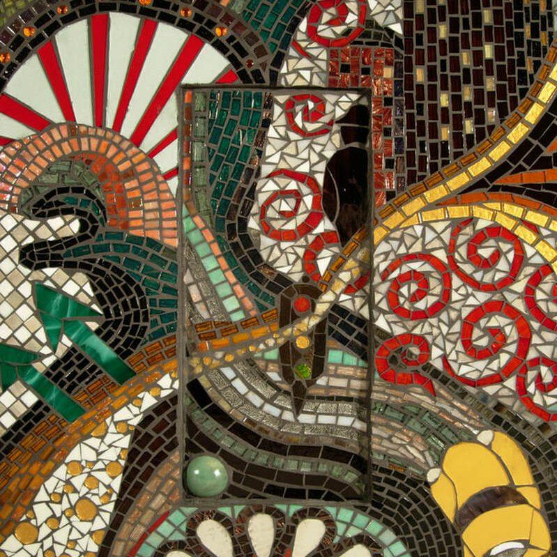 Off Broadway: Custom Mosaic Tile Artwork