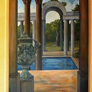 Entryway Mural: Painted Murals