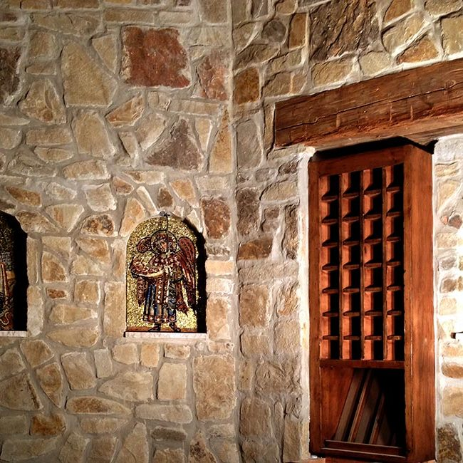 Wine Cellar: Custom Mosaic Art